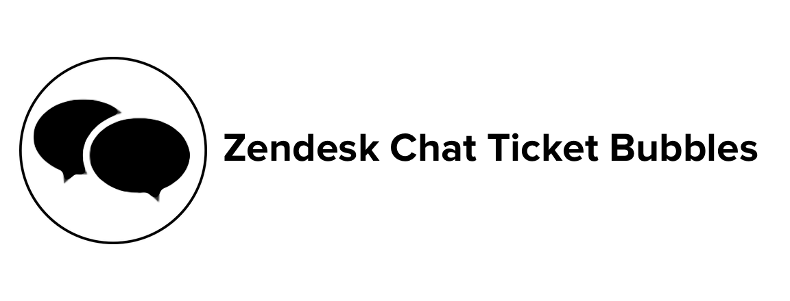 Chat Ticket Bubbles